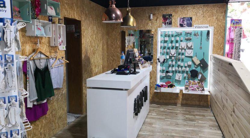 commerces-espagne-com35047-el campello-magasin de vétements-espace caisse