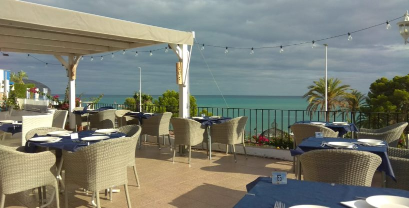 Moraira, Bar Restaurant, face mer, Costa Blanca