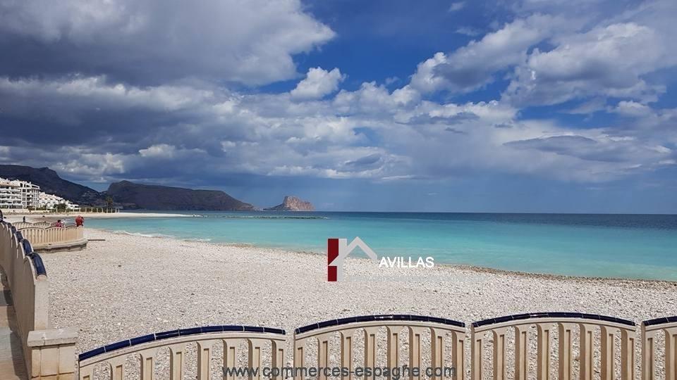 Altea, Bar Cafeteria, face mer, Costa Blanca
