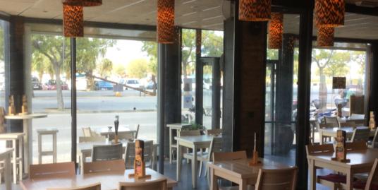 Rosas, Bar Restaurant, première ligne, Costa Brava