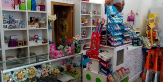 Javea, boutique Bonbons et cadeaux, Costa Blanca