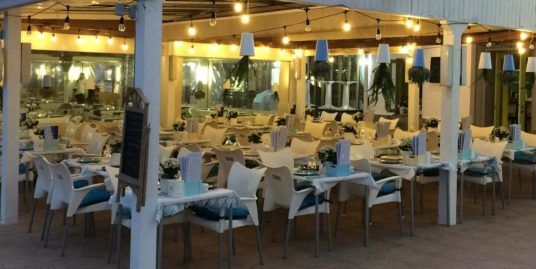 Denia, Bar Restaurant, face mer, Costa Blanca