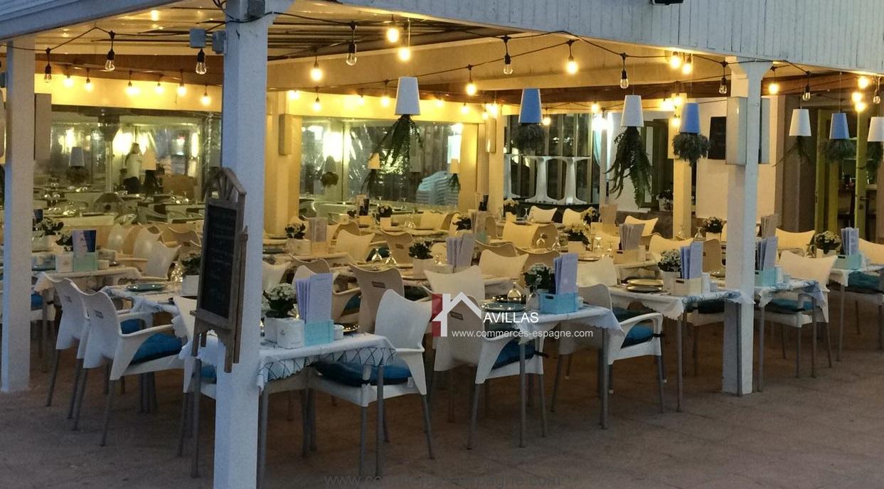 Denia, Bar Restaurant, face mer, Costa Blanca