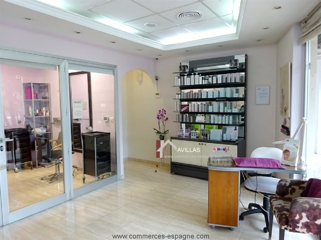 Estepona, Salon de coiffure et Esthétique, Costa del Sol
