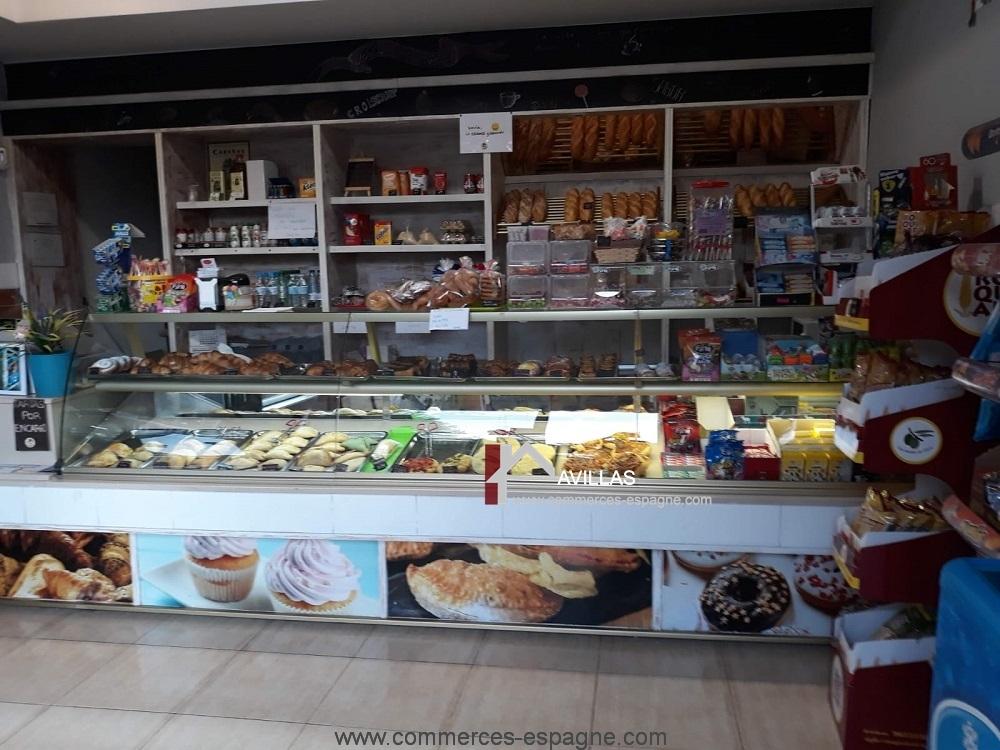 Denia, Boulangerie pâtisserie point chaud