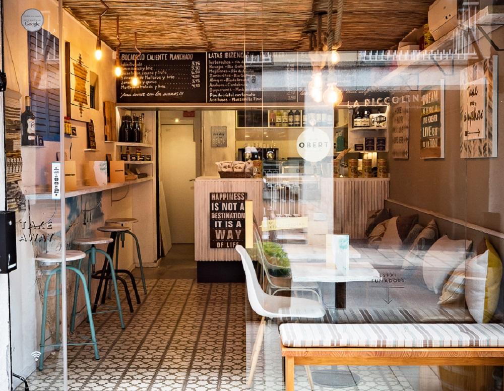 Barcelone, Bar Cafeteria