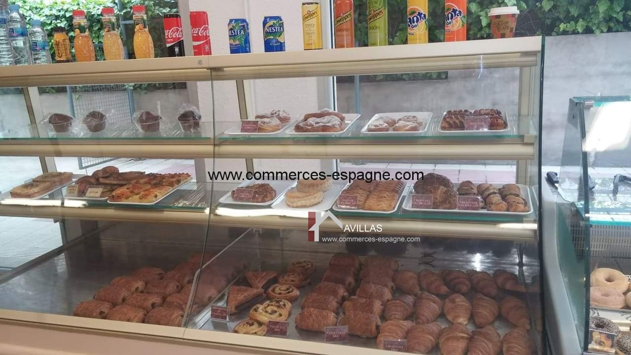 Rosas, Boulangerie, Pâtisserie, salon de thé.