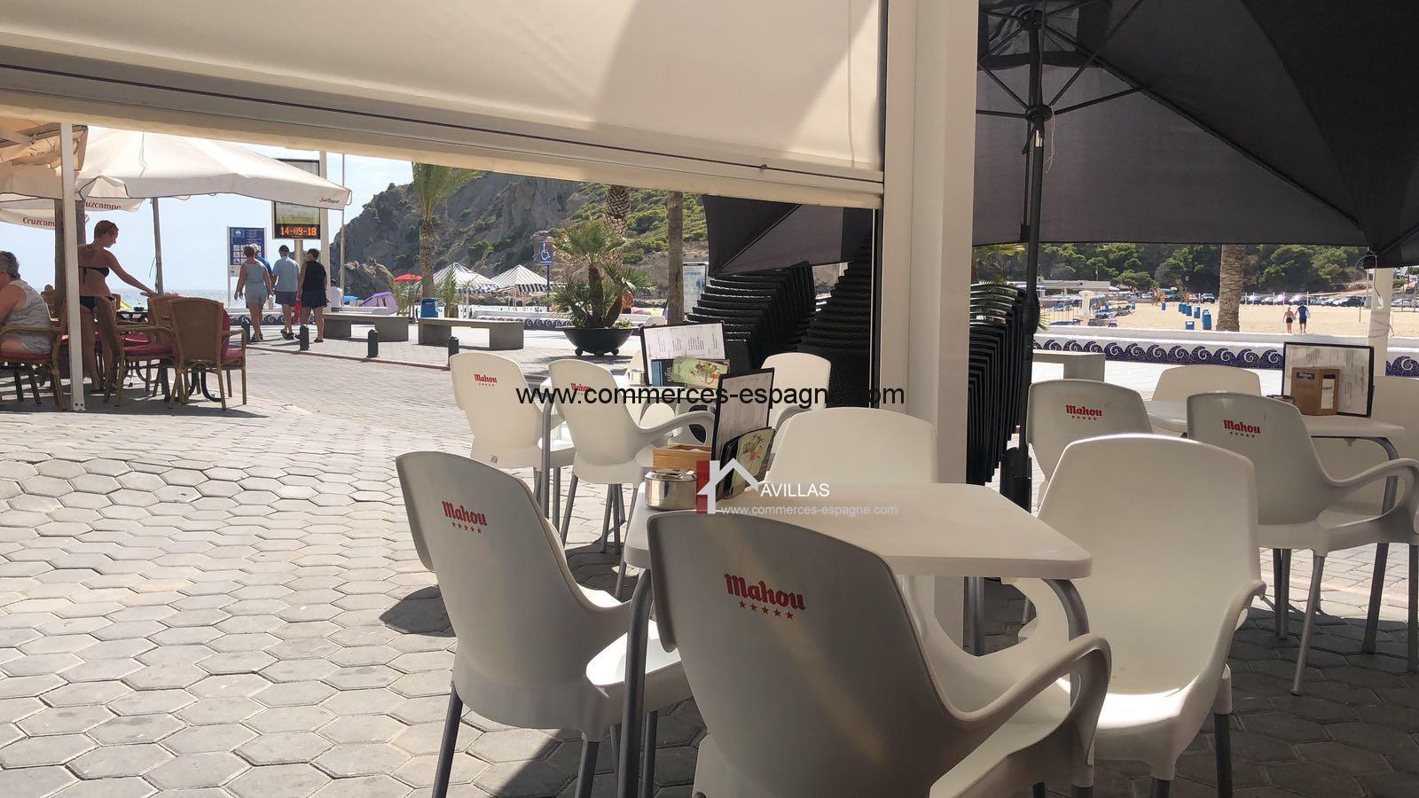 Benidorm, Bar Tapas face mer, Costa Blanca