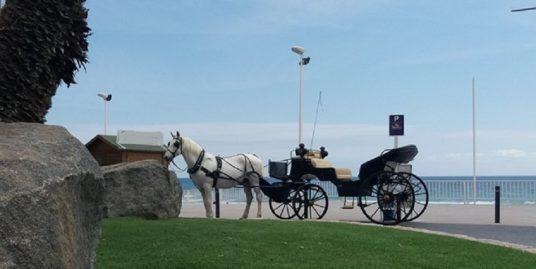 Altea, Promenade à cheval bord de mer