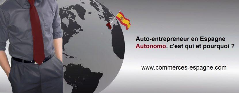 Auto-entreprise en Espagne, autonomo