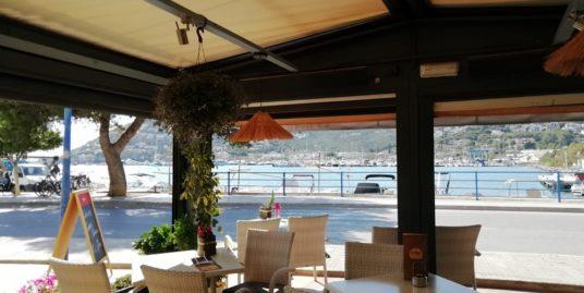 Restaurant Bar, face mer, îles Baleares