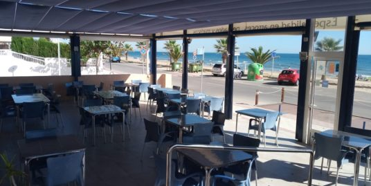 Bar Restaurant, Castellon, face mer