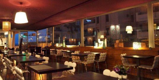 Restaurant, Palma de Mallorca, face mer