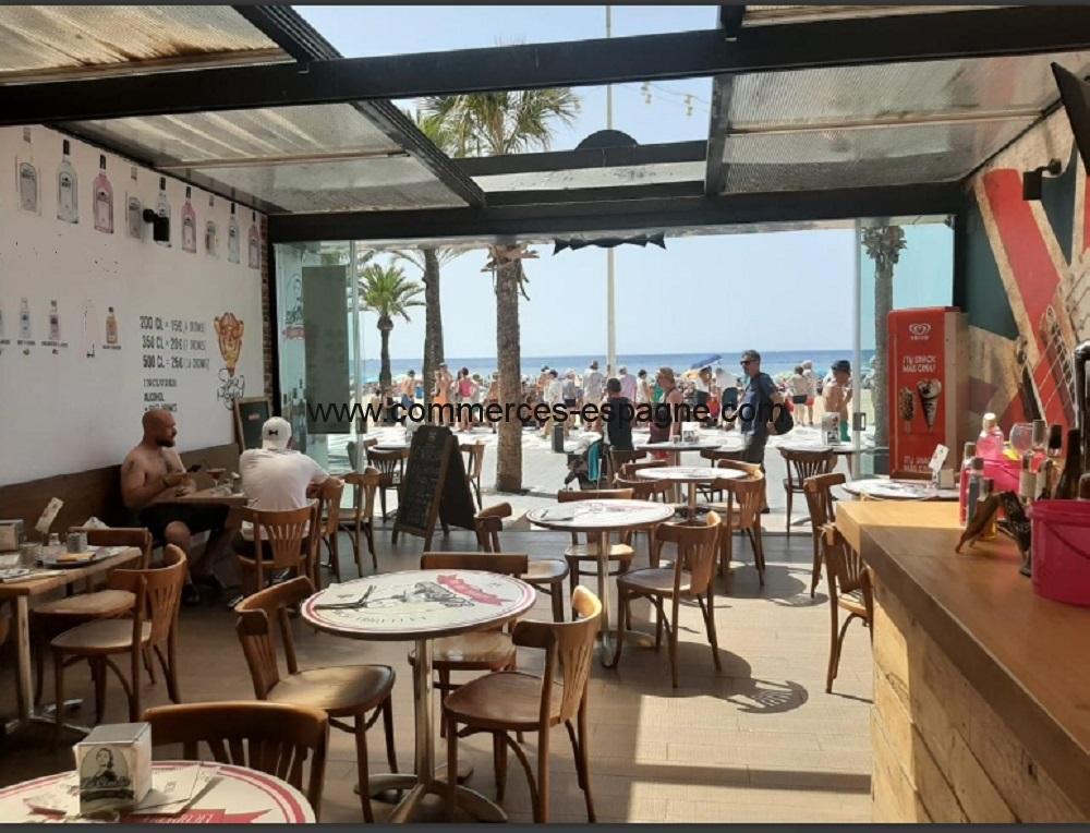 Bar restaurant, Benidorm, face mer