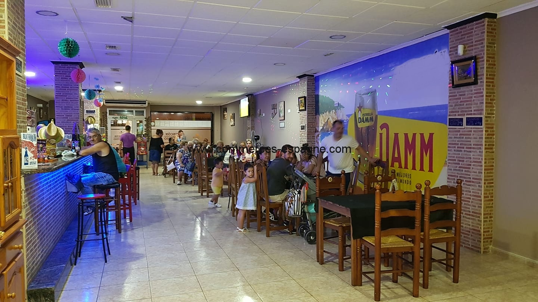 Bar restaurant à Torrevieja