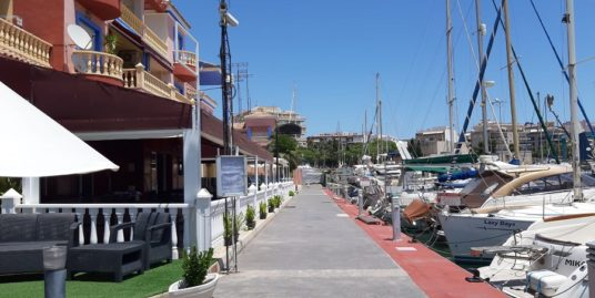 Torrevieja, Restaurant à la Marina, Costa Blanca
