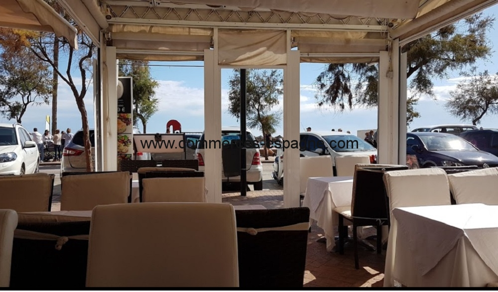 Bar Restaurant à Fuengirola, face mer