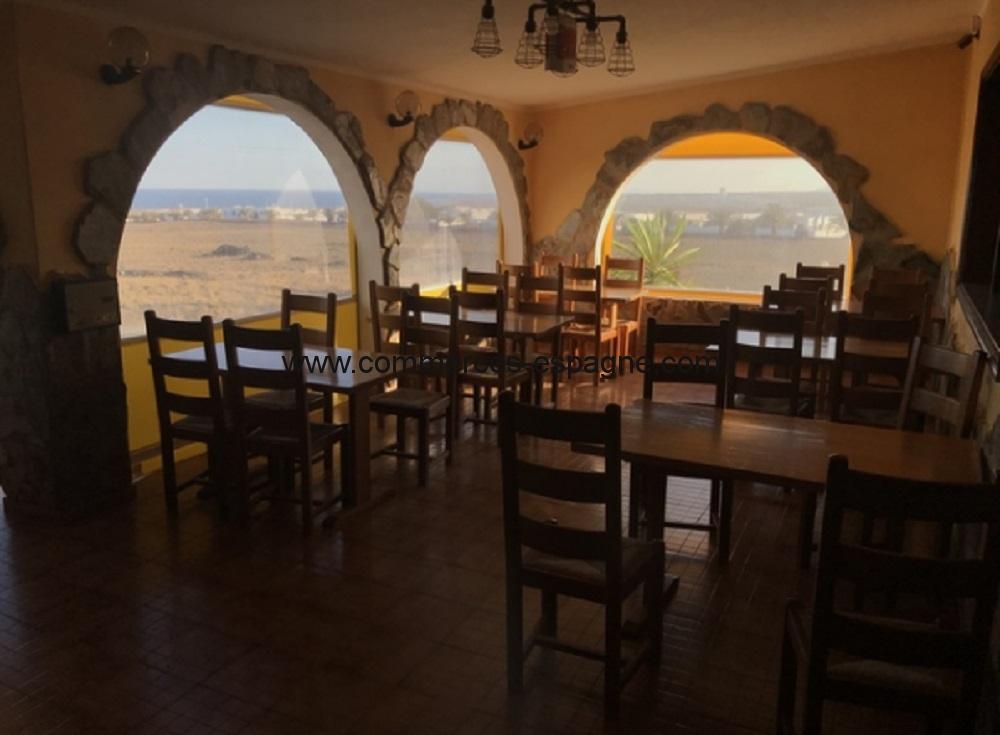 Restaurant location, Lanzarote, Canaries