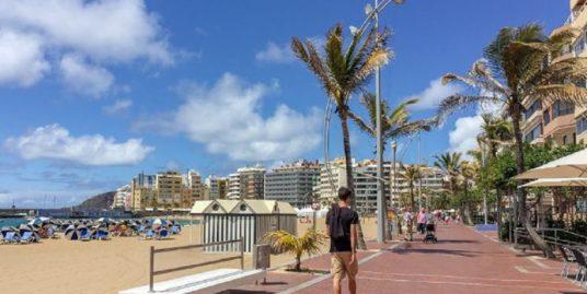 Restaurant à Las Palmas de Gran Canaria, face mer