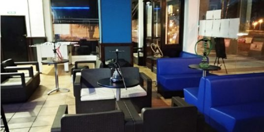 Bar de nuit à Malaga , face mer