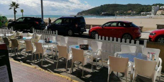 Oropesa de Mar, bar restaurant, face mer