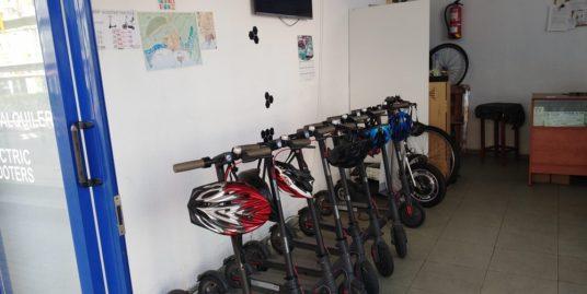 Benidorm, Location vélos et scooters