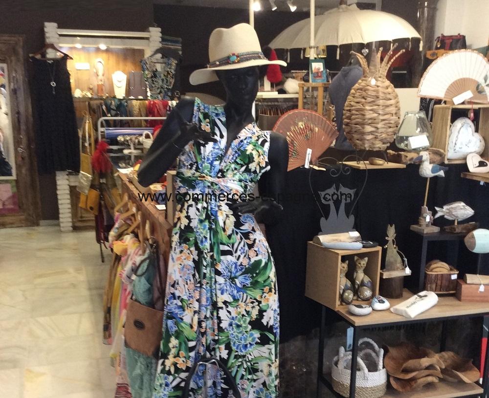 Mijas, Andalousie, magasin de vêtements