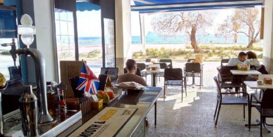 Bar Cafeteria à Benidorm, face mer