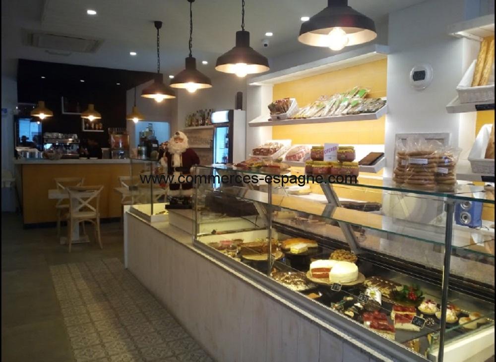 Javea, Boulangerie, salon de thé