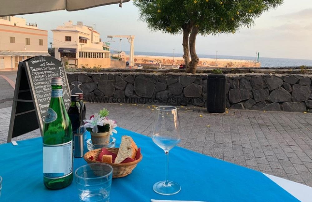 Bar Restaurant,Tenerife, face mer