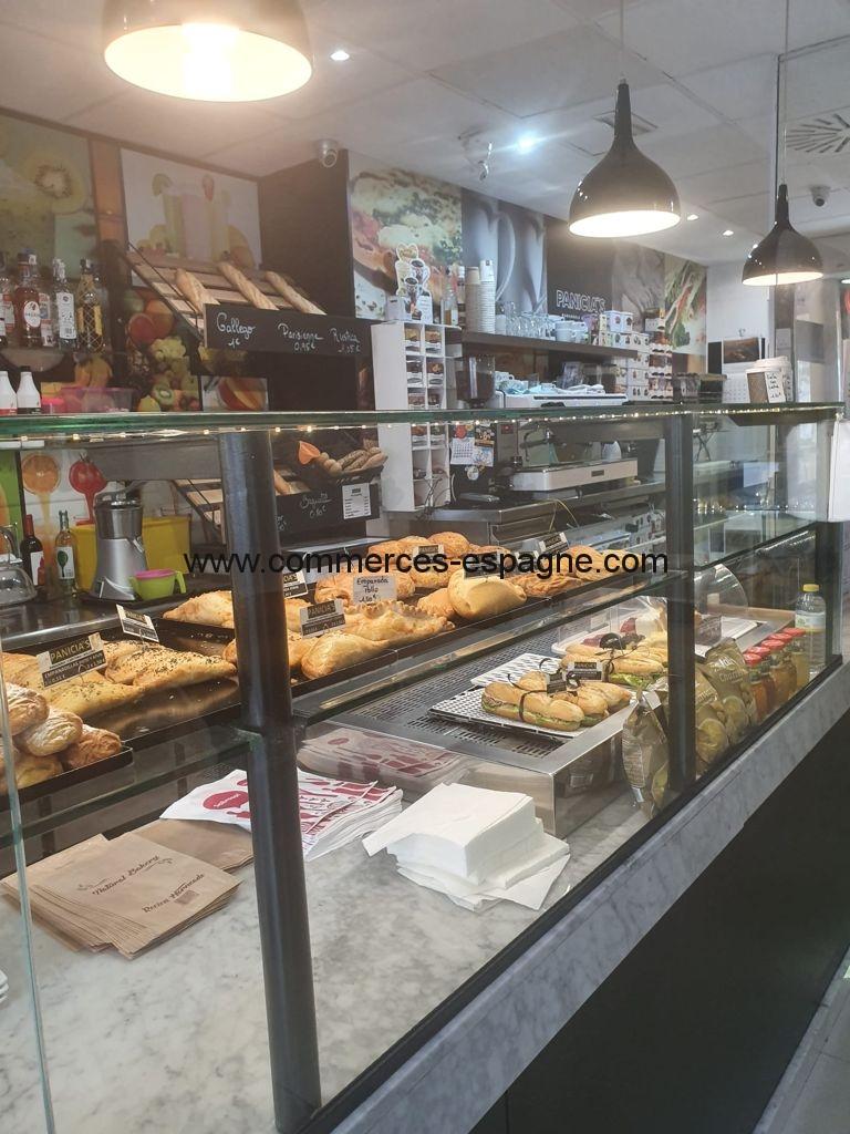 Boulangerie, point chaud, cafeteria, Alicante