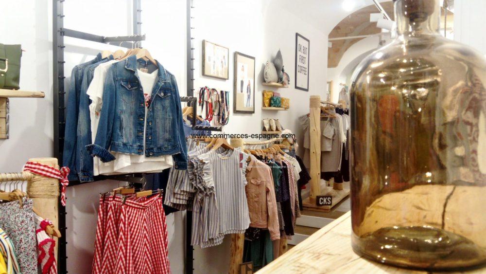 Figueres, boutique de vêtements